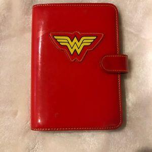 Vintage wonder woman calendar-Planner